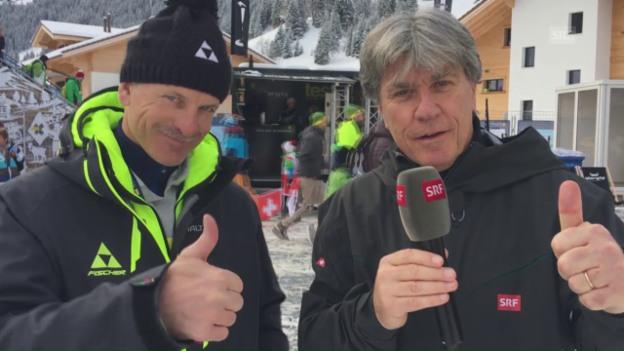 Mike in Interview mit Berni